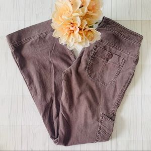 Daughters of the Liberation Gray Corduroy Pants
